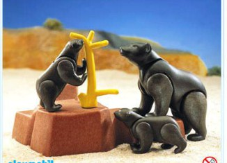 Playmobil - 3298 - Bears family