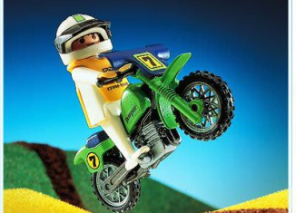 Playmobil - 3301 - Off-Road Motorcycle
