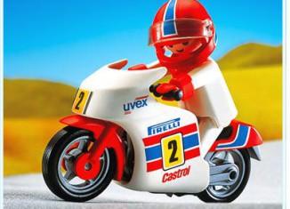 Playmobil - 3303 - Racing Motorcycle