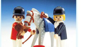 Playmobil - 3305-ant - Horse And Riders
