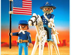 Playmobil - 3306v1 - US General and Sergent