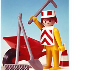 Playmobil - 3313 - Construction Worker