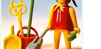 Playmobil - 3315s1 - Cleaning Lady
