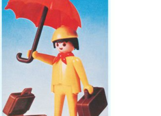 Playmobil - 3322v1 - Man With Umbrella