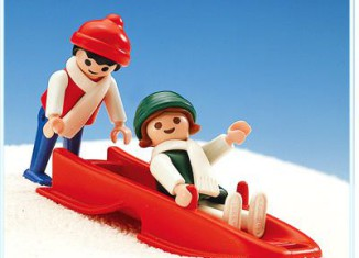 Playmobil - 3327s1 - Children With Sled