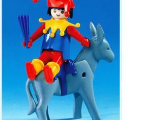 Playmobil - 3330 - Jester and Donkey