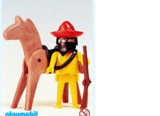 Playmobil - 3343s1 - Mexican Bandit / Horse