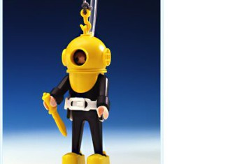 Playmobil - 3348v1 - Hard-Hat Diver (Yellow/Black)