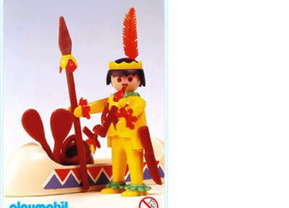 Playmobil - 3352s1 - Indian / Canoe