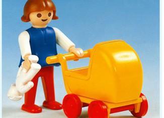 Playmobil - 3357 - Girl With Pram