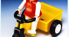 Playmobil - 3359-ant - Girl and Tricycle