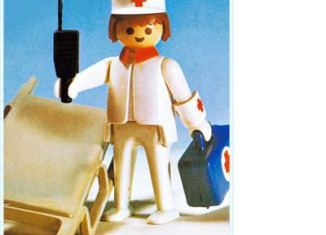 Playmobil - 3361-fam - Nurse / stretcher