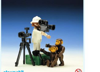 Playmobil - 3364 - Photographer With Chimps
