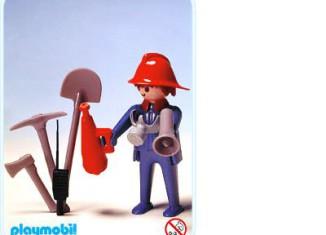 Playmobil - 3366 - Fireman & loudspeaker