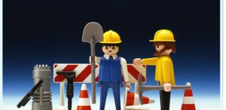 Playmobil - 3368 - 2 Roadworkers