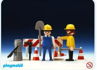 Playmobil - 3368 - 2 Roadworkers