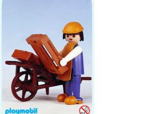 Playmobil - 3369 - Farmer with wheelbarrow