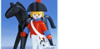 Playmobil - 3387 - redcoat officer / horse