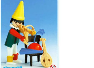 Playmobil - 3390 - Circus clown / chair