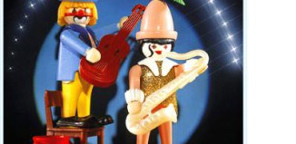 Playmobil - 3392 - Musicians clowns