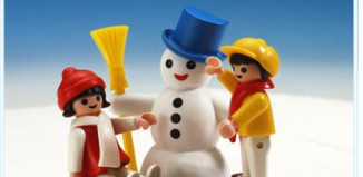 Playmobil - 3393 - Snowman With Children