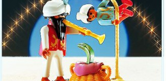 Playmobil - 3398 - Fakirs With Snake Basket & Rope