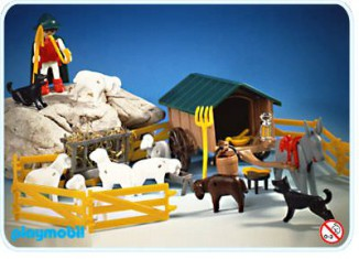 Playmobil - 3412 - Shepherd And Animals