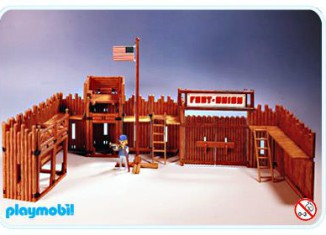 Playmobil - 3420 - Fort - Union - Superset