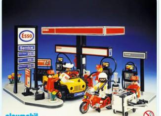 Playmobil - 3434v1-esp - Station service Esso