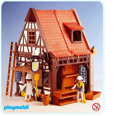 Playmobil - 3441 - Medieval Bakery