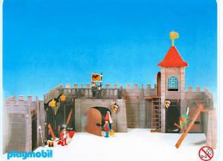 Playmobil - 3446v1 - Stadtmauer mit Turm