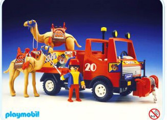Playmobil - 3452-aur - Circus Truck With Camel