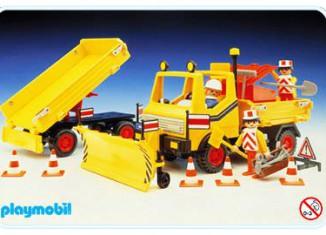 Playmobil - 3454 - Snow Clearance Vehicle