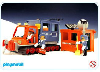 Playmobil - 3460 - Artic Lab Vehicle