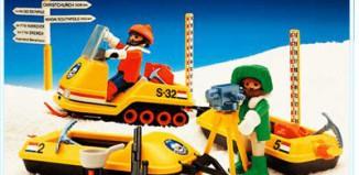 Playmobil - 3464 - Snow Survey Crew