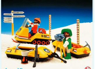 Playmobil - 3464 - Snow Survey Crew
