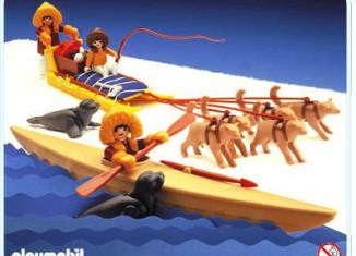 Playmobil - 3466 - Kayak And Dog Sled