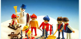 Playmobil - 3467 - Wintersport Family