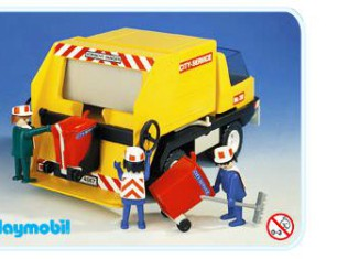 Playmobil - 3470v1 - Recycling Truck