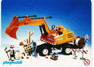 Playmobil - 3472v1 - Backhoe