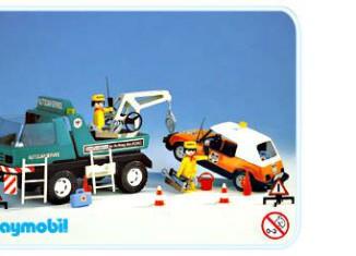 Playmobil - 3473v1 - Tow Truck