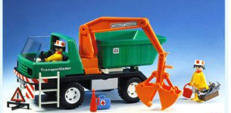 Playmobil - 3475 - Dump truck with scoop