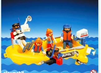 Playmobil - 3479 - Scuba Divers And Yellow Raft