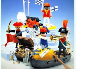 Playmobil - 3480 - 4 pirates