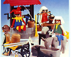 Playmobil - 3487 - Water Well And Fool.