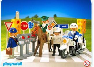 Playmobil - 3489 - Police Set