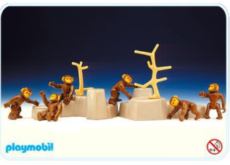 Playmobil - 3496 - Chimpanzees