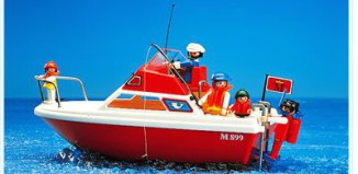 Playmobil - 3498v1 - Cabin Cruiser