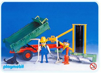 Playmobil - 3501v3 - Tractor trailer