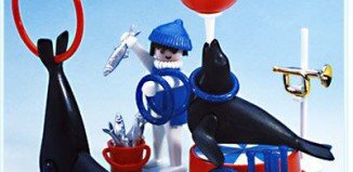 Playmobil - 3518 - Seals Trainer